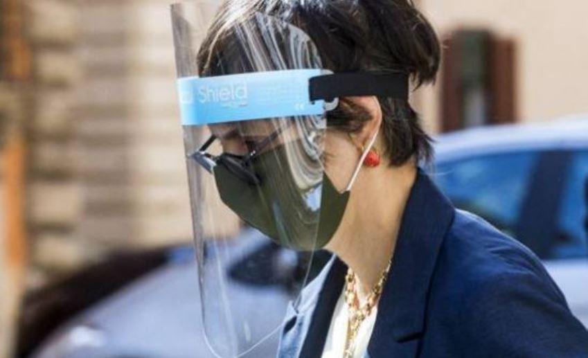 Senatori in mascherina, Giulia Bongiorno