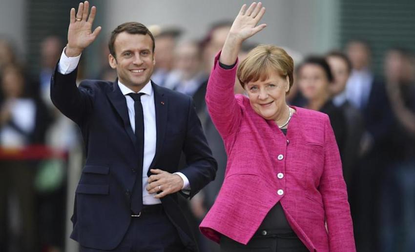 Europa oggi, Macron Merkel