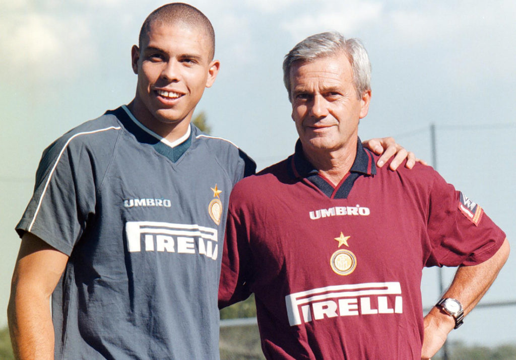 Gigi Simoni e Ronaldo