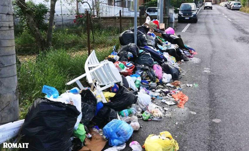 desolazione capitale: caos immondizia a roma