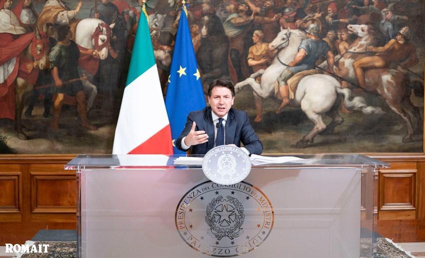 Giuseppe Conte, Stato di emergenza