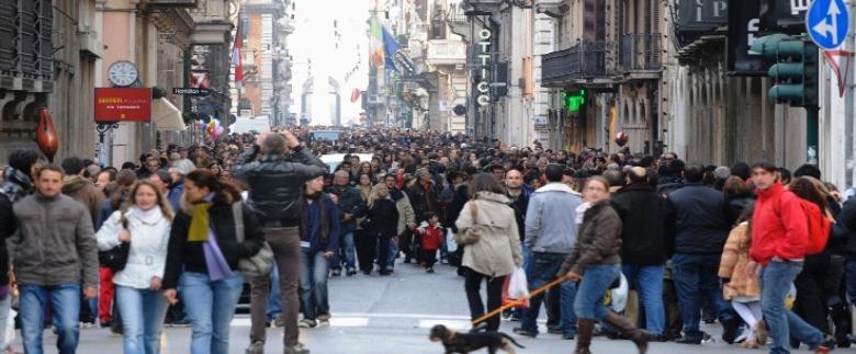 vie shopping roma