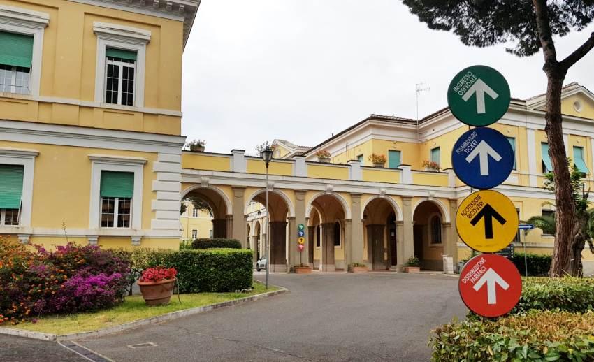 Covid-19, i dati, Ospedale Spallanzani