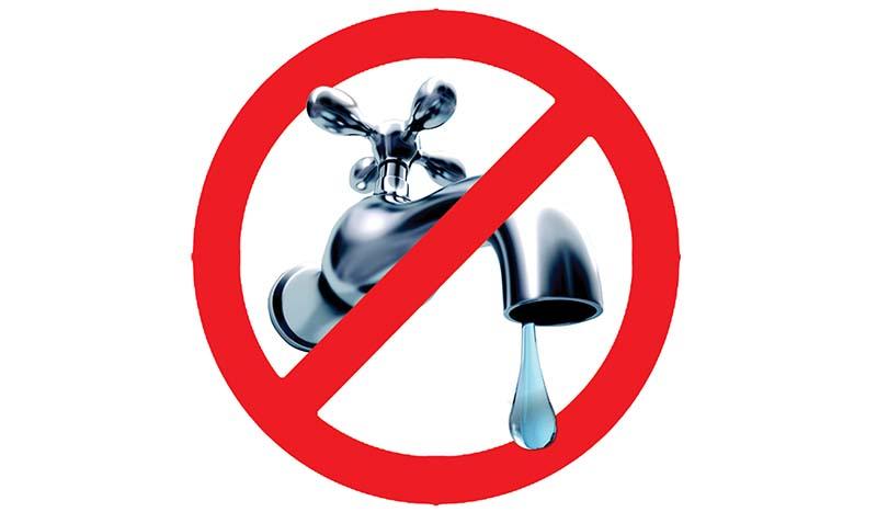 roma sospensione acqua