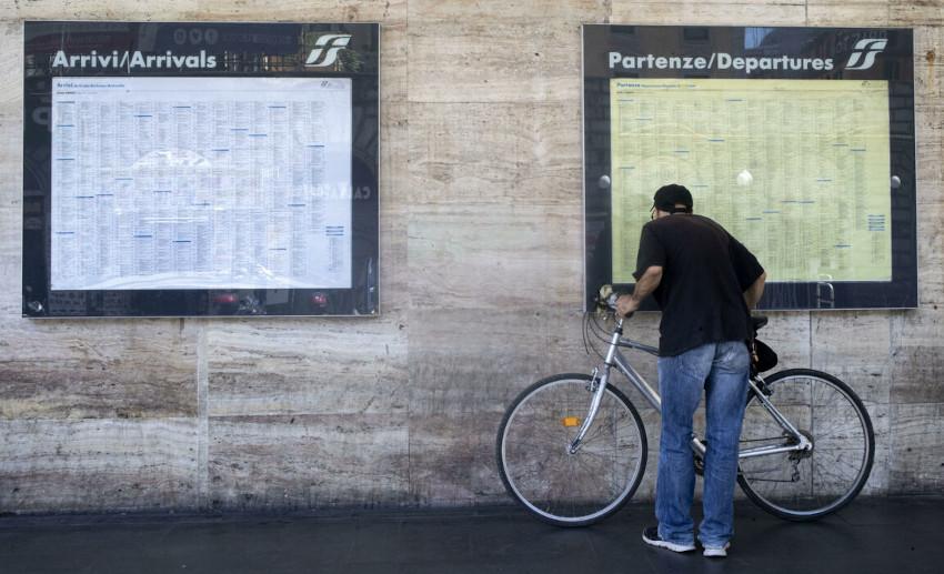 Spostamenti tra regioni, Stazione Termini Roma
