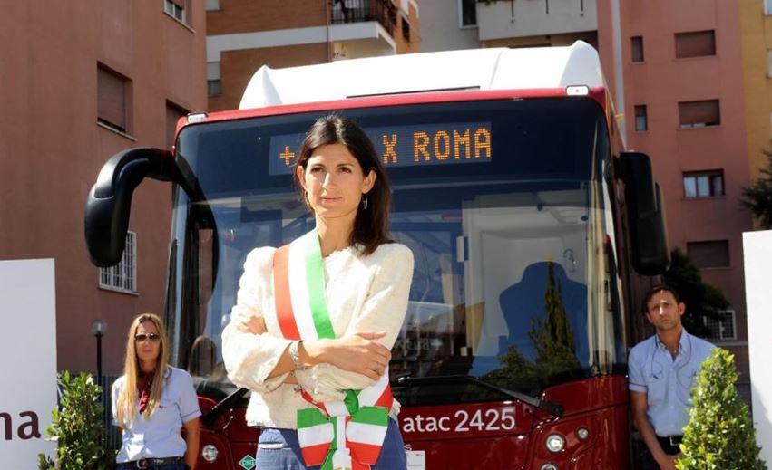 Virginia Raggi, Roma campagna elettorale