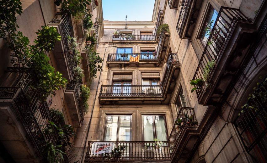 condominio, balconi