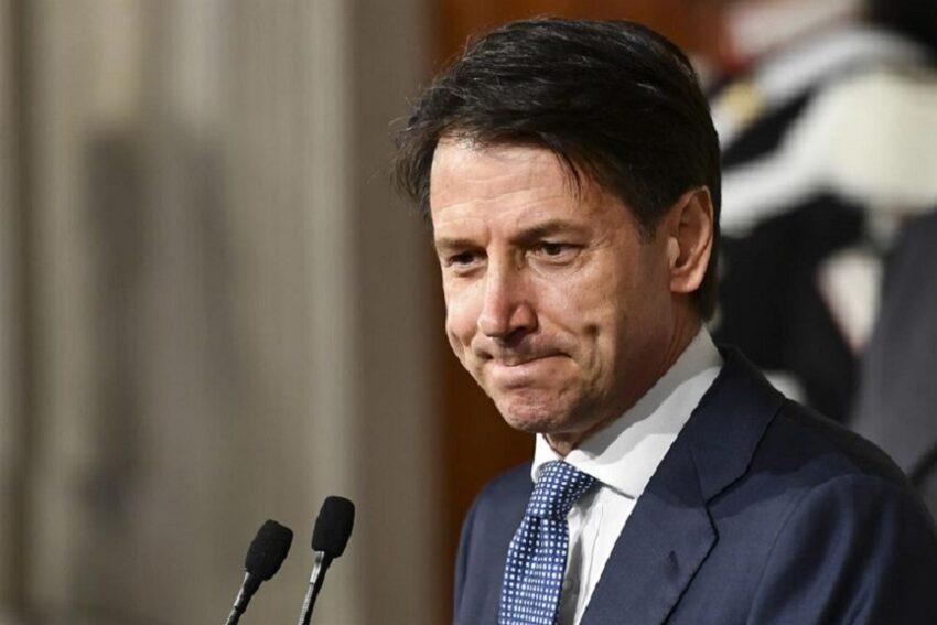 il premier si è dimesso: giuseppe conte