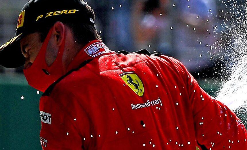 F1 Leclerc Ferrari Austria