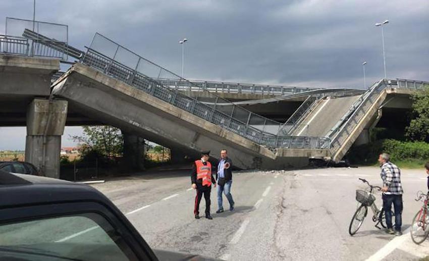 Recovery Fund, ponte crollato