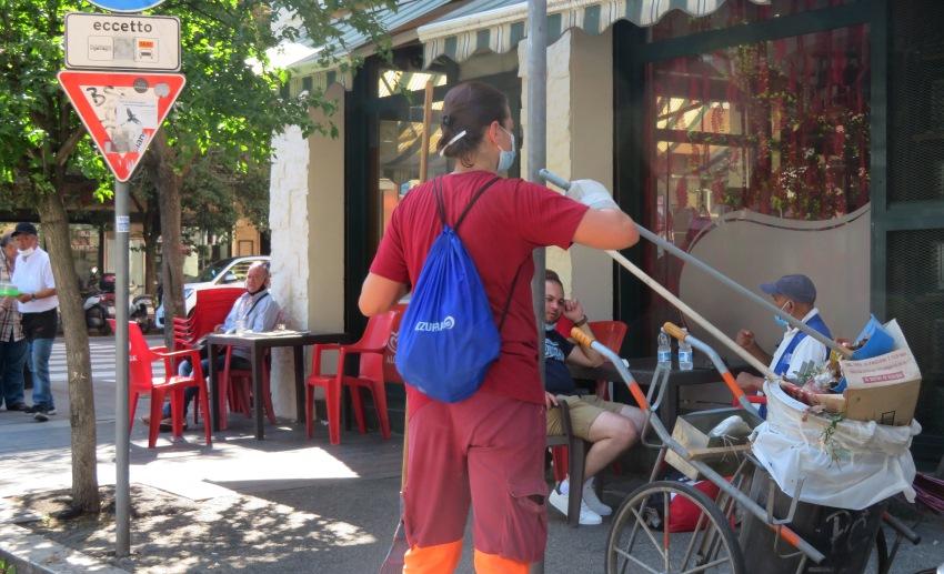 Roma operatore ecologico