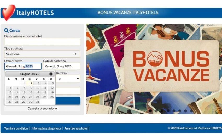 Voucher, Bonus vacanze
