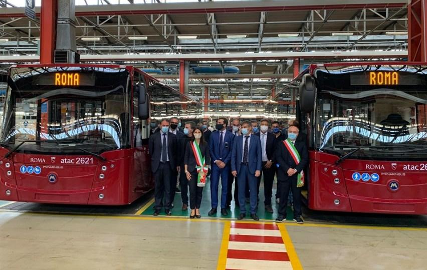 nuovi bus a roma