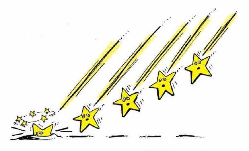 m5s allo sbando: (cinque) stelle cadenti