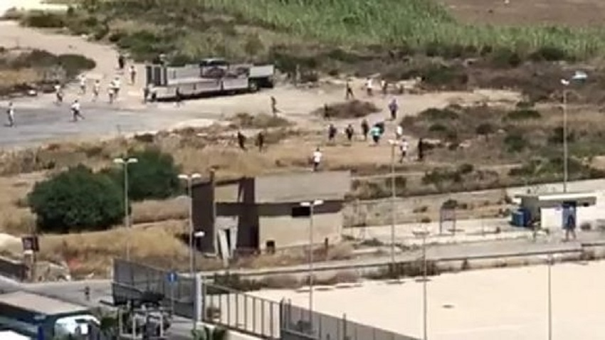 fuga di migranti