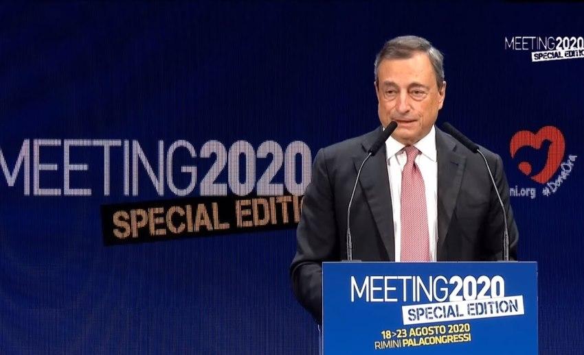 Mario Draghi, Meeting Rimini