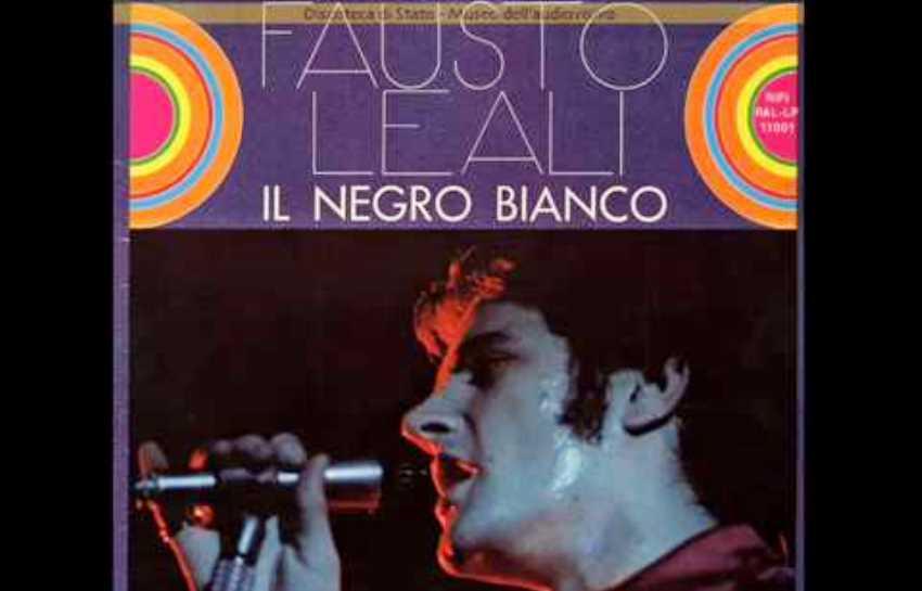 Fausto Leali, negro