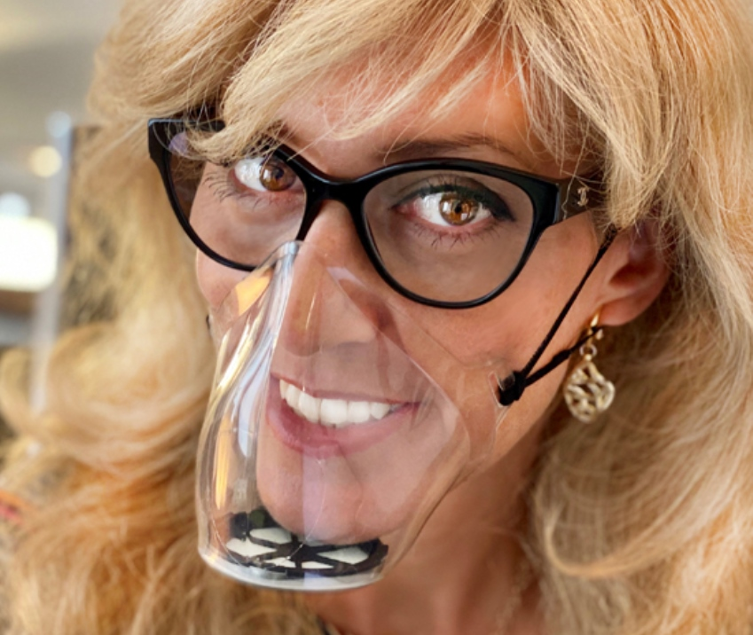mascherine trasparenti