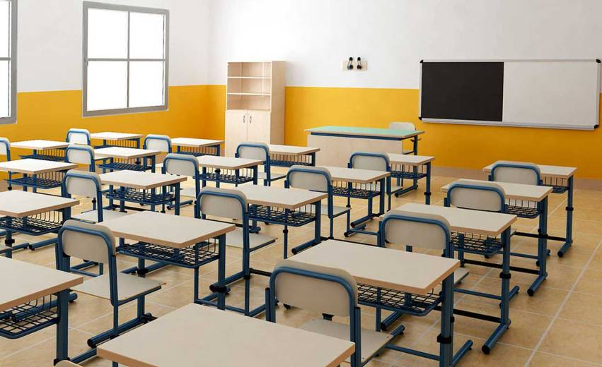 scuola aula vuota