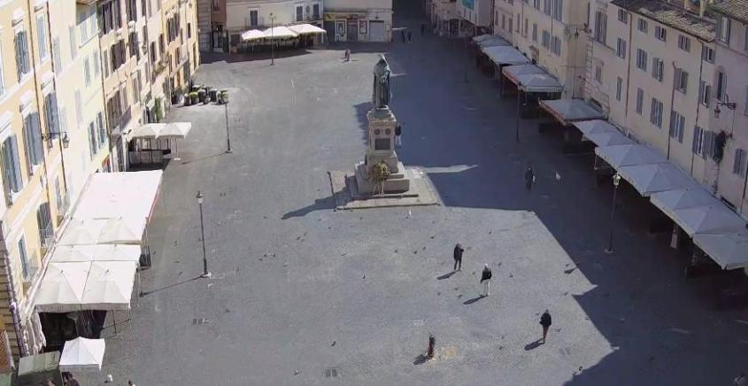 roma piazze chiuse covid-19