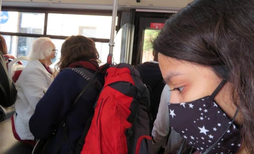 Nuovo Dpcm, autobus mascherine