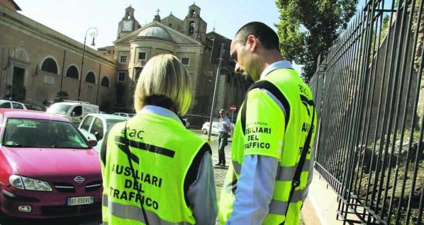 ausiliari del traffico roma
