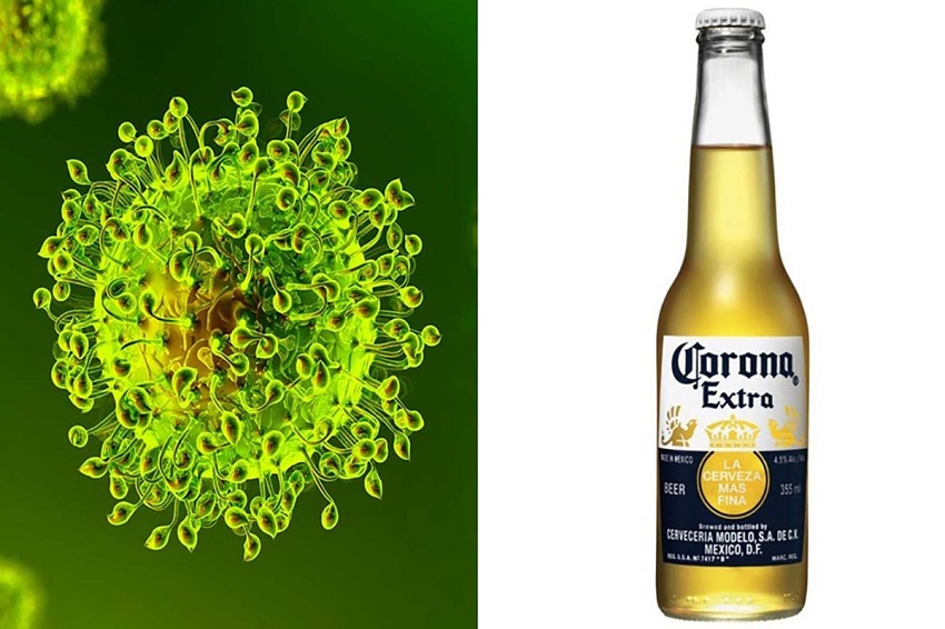 emergenza covid: corona e corona