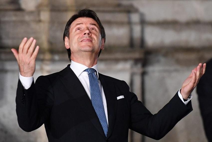 dimissioni e reincarico: giuseppe conte