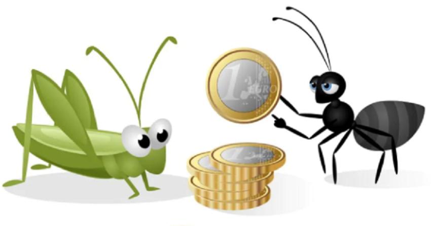 manovra 2021: la cicala e la formica