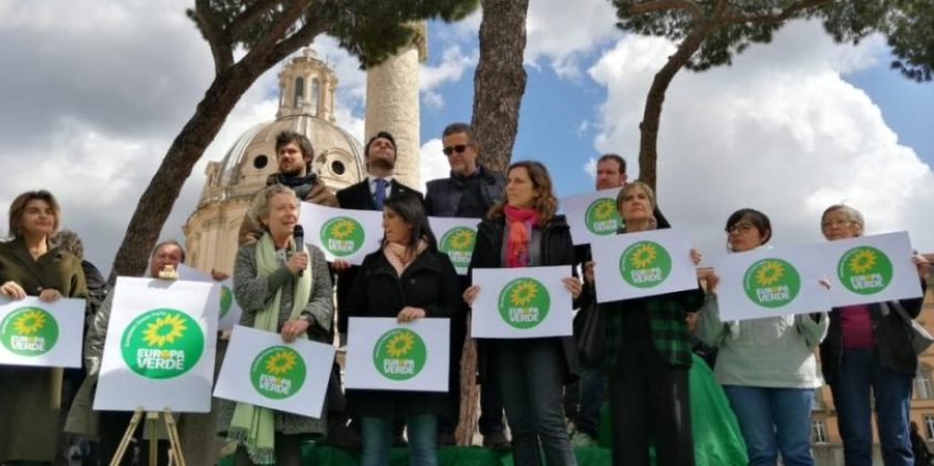 europa verde roma sindaco verdi