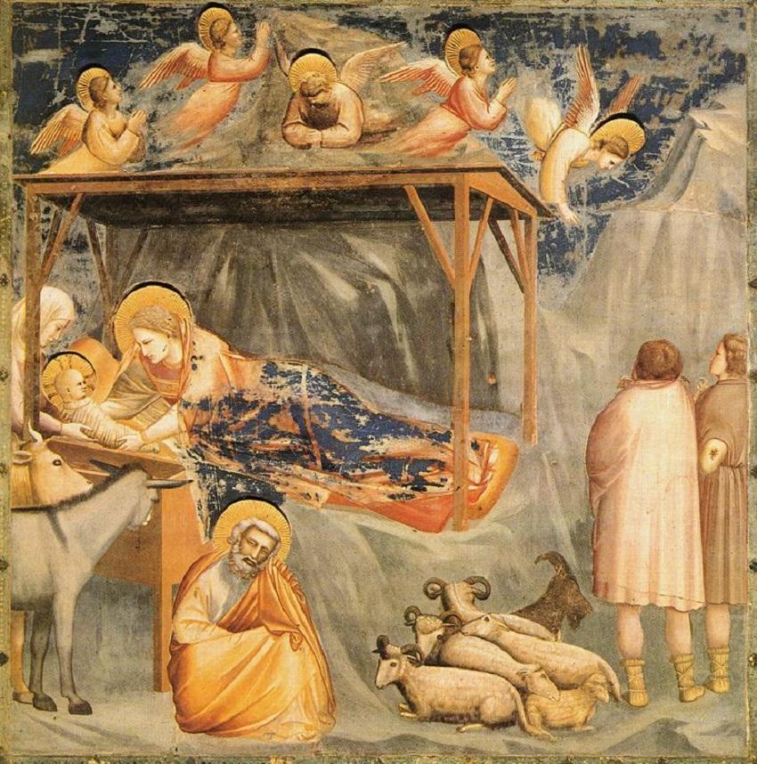 santo natale: giotto - la natività