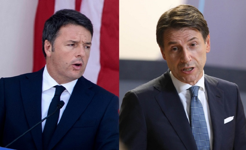 italia viva ritira i ministri: renzi e conte