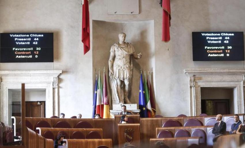 aula roma beni comuni delibera m5s