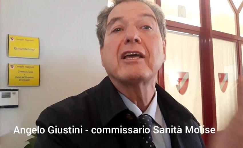 ngelo Giustini, ex Commissario Sanità Molise