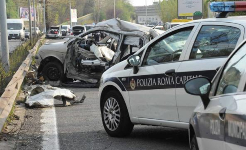 Incidenti stradali Roma