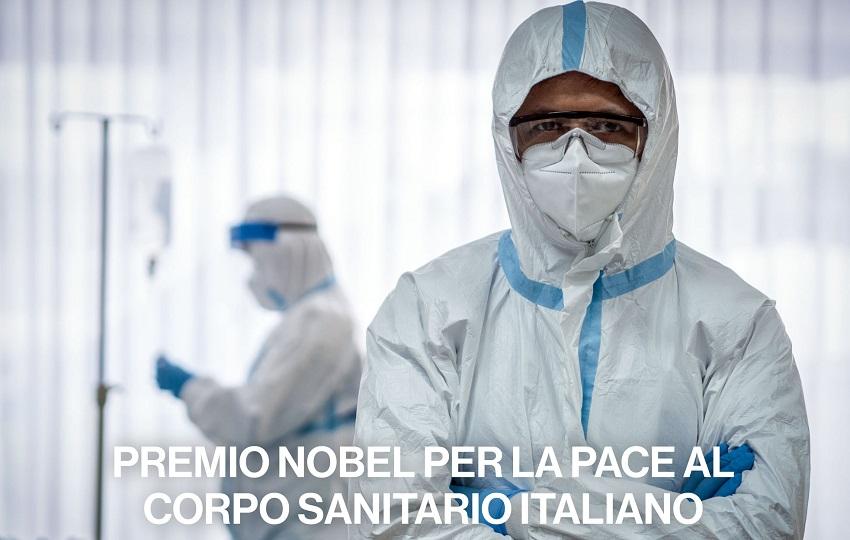 covid, un anno dopo: nobel per la pace al corpo sanitario italiano