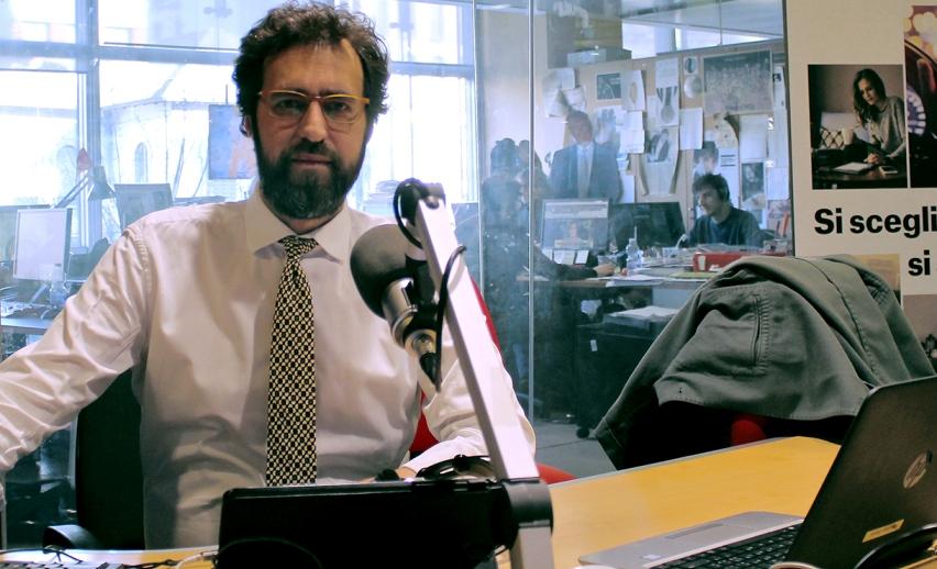 Simone Spetia, Radio 24