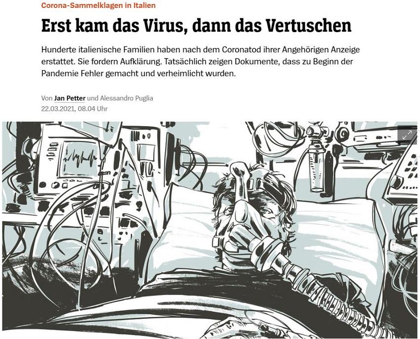 """""""conte rischia il processo del secolo"""": der spiegel"""