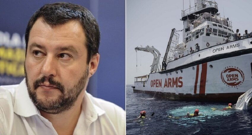 salvini vs. open arms