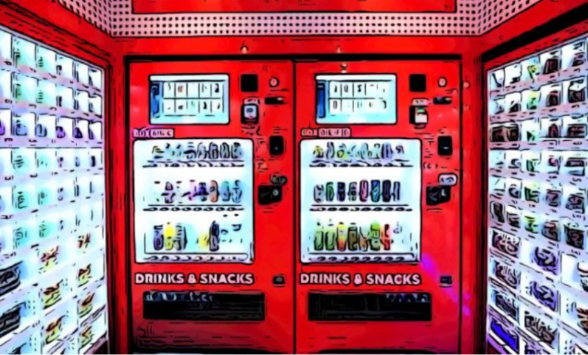 Vending, distributori automatici