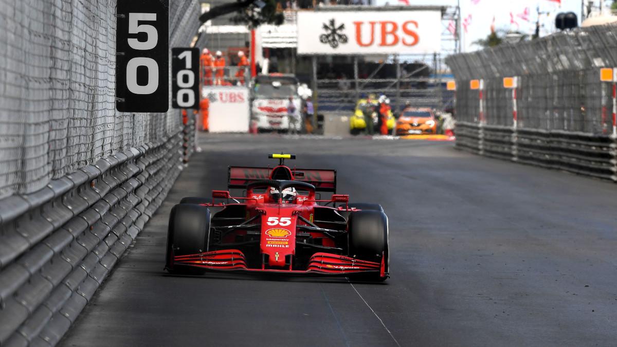 Sainz Ferrari Monaco