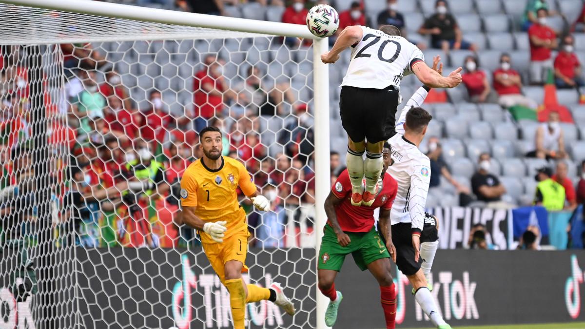 Euro 2020 Germania Portogallo Gosens