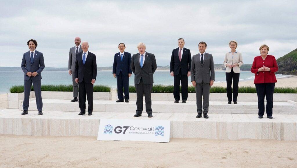 g7 in cornovaglia