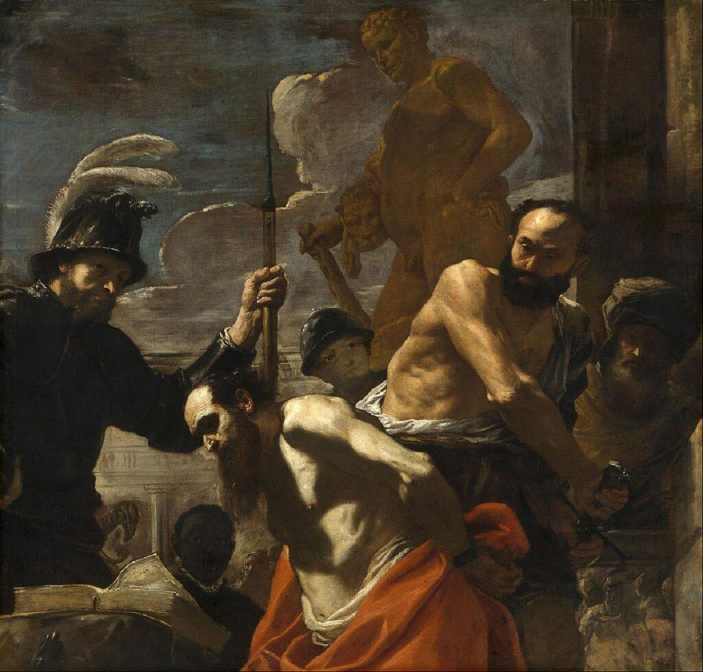 mattia preti - martirio di san paolo