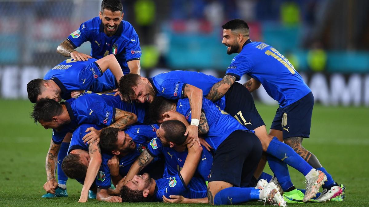 Nazionale EURO 2020 Italia Svizzera