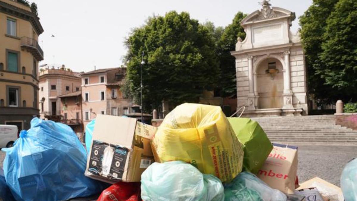 sciopero rifiuti