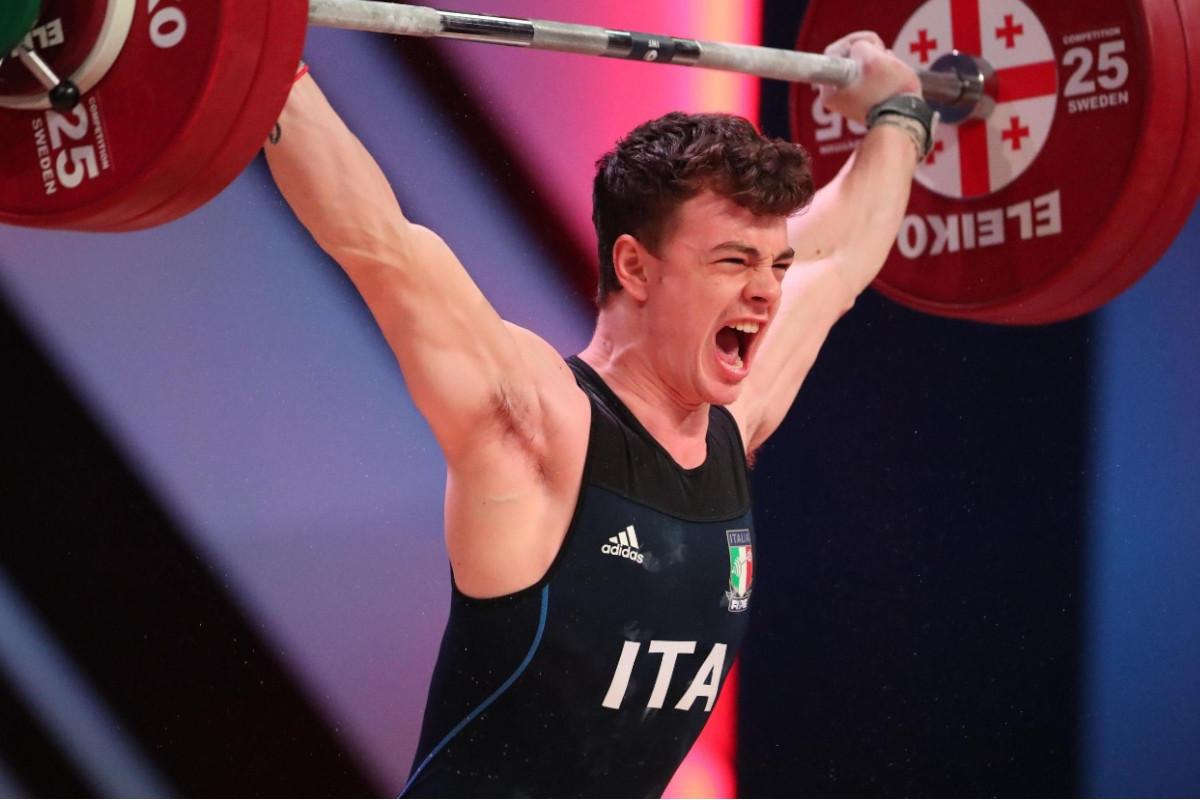 Mirko Zanni conquista il bronzo nel sollevamento pesi a Tokyo 2020