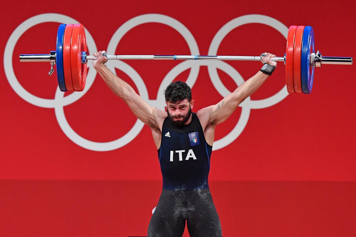 Antonino Pizzolato vince il bronzo nel sollevamento pesi alle Olimpiadi di Tokyo