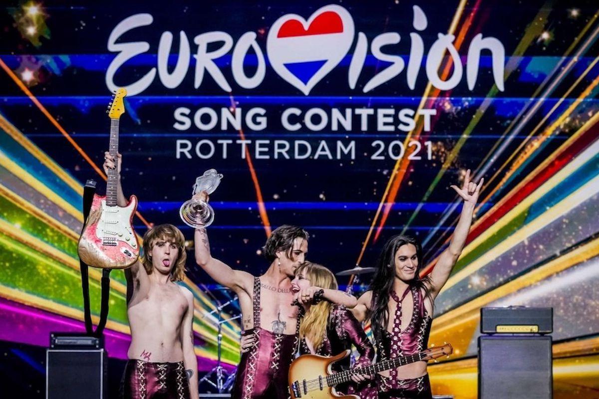 i maneskin vincono l'eurovision 2021