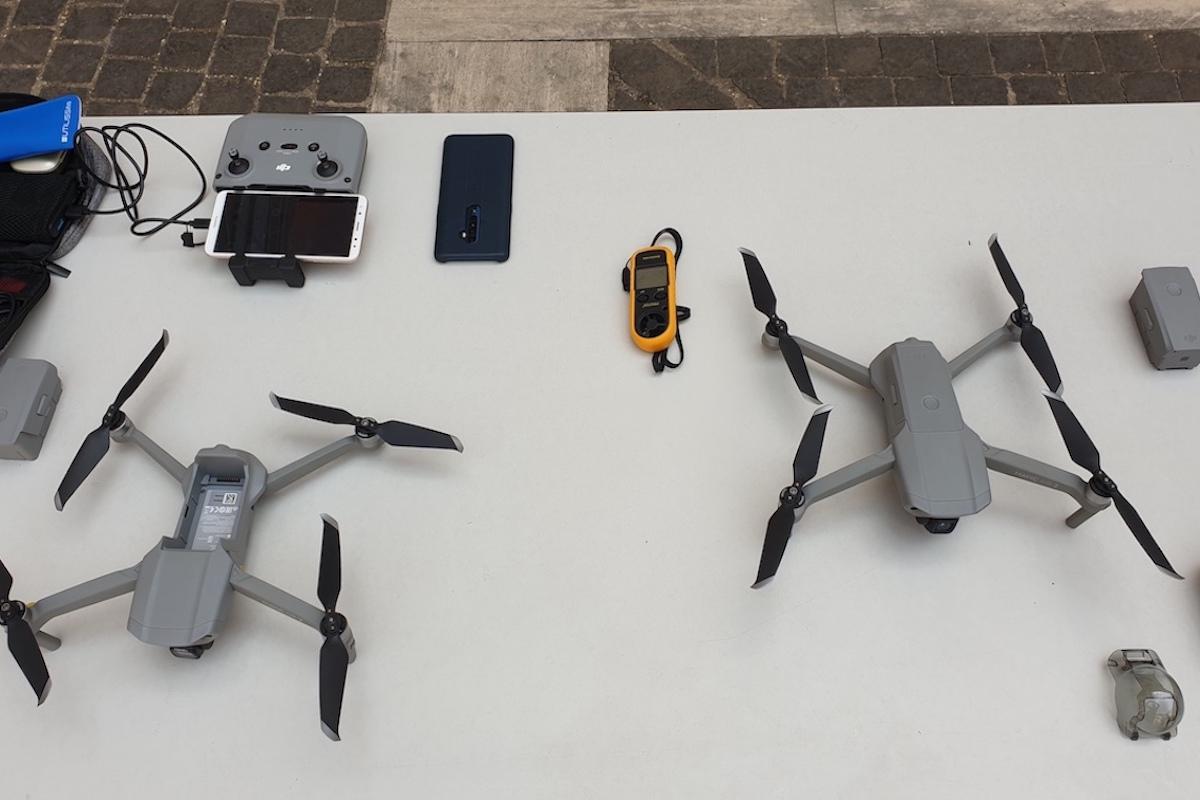 I droni consegnati alla Polizia di Roma Capitale
